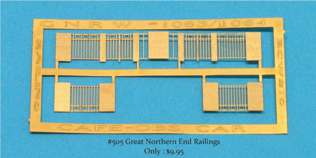 GNRW Railings Kit #210 LT